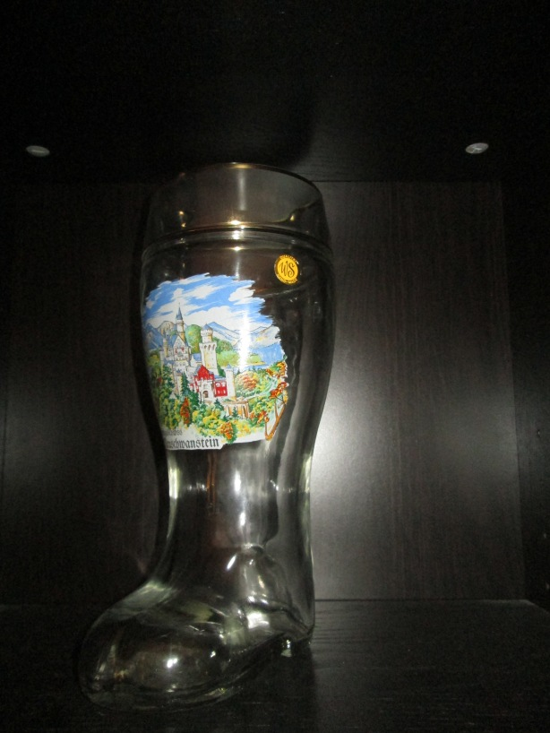 """We bought this one after a hike in Bavaria, Germany. We were looking all over for """"das boot"""" for drinking out of and found it on our last day!  It is pretty fun to drink out of."""